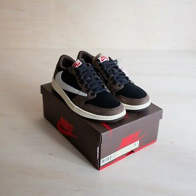 $839.99 • Buy Jordan 1 Retro Low OG SP Travis Scott Size 8.5, DS Brand New