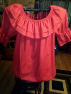 $15 • Buy Red Square Dance Blouse