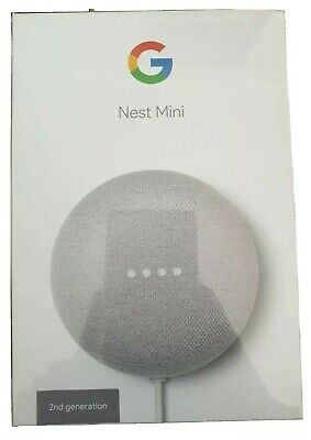 AU40 • Buy Brand New Google Nest Mini (2nd Generation) Smart Speaker - Chalk