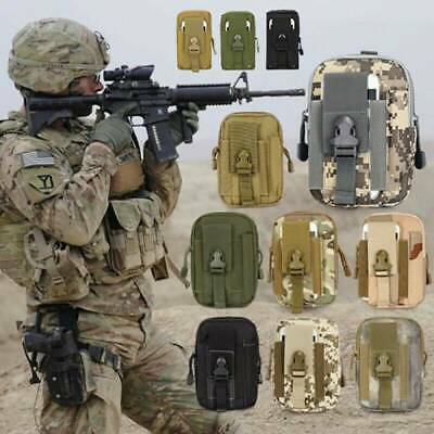 £3.29 • Buy Mens Bag Accessories Belt Pack Waist Pouch Backpack Tactical Army Camping Bag