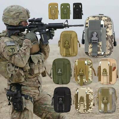 £5.79 • Buy Utility Tactical Waist Pack Belt Bag Camping Outdoor Hiking Military Wallet