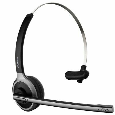 MPOW Truck Driver Over Head Headphones Headset For IPhone Call Center Skype PC • 22.59£