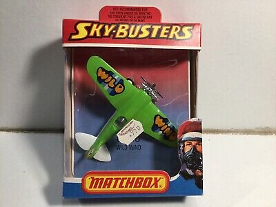 Vintage Matchbox Skybusters SB-18 Wild Wind Stunt Plane Mint In Box • 12.99£