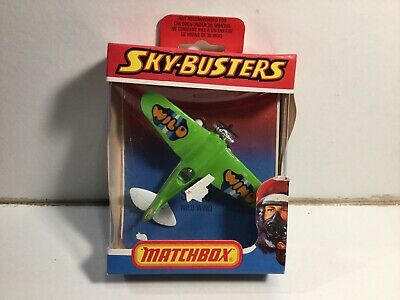 Vintage Matchbox Skybusters SB-18 Wild Wind Stunt Plane Near Mint In Box • 11£