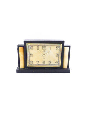 £2633.50 • Buy Extra Fine  Omega Table Clock With 8 Day Movement  Art Deco 1930's