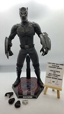 $299.99 • Buy Custom 1/6 Scale Hot Toys Style Marvel Black Panther Battle Armor Concept
