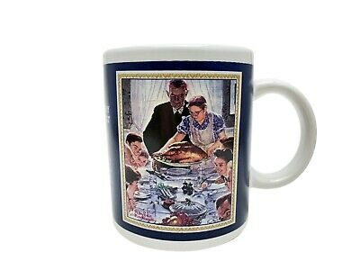 $ CDN19.76 • Buy Norman Rockwell Freedom From Want 12 Oz. Ceramic Coffee/Tea Cup/Mug
