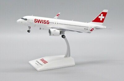 AU120.56 • Buy Jcwings Jcew232n002  1/200 Swiss Airbus A320neo Reg: Hb-jdb With Stand