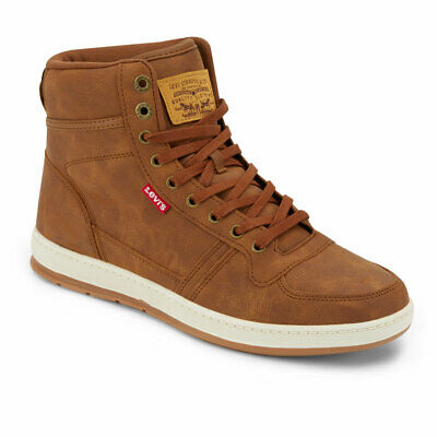 $34.99 • Buy Levi's Mens Stanton Waxed Fashion Synthetic Leather Lace-up Hightop Sneaker Shoe