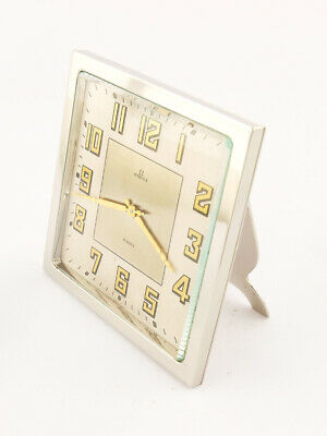 £1901.98 • Buy Omega Table Clock With 8 Day Movement In Pure Art Deco Design From 1931