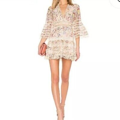 $385 • Buy Zimmermann Lovelorn Dress 0 Small Pink New With Tags Sold Out At $850