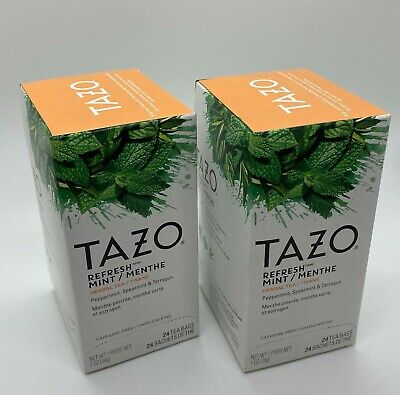 Tazo Refresh Mint Tea Bags 2 X 24 Count Boxes  • 14.93£