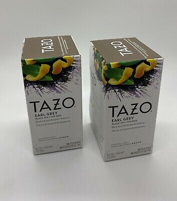 Tazo Earl Gray Tea Bags 2 X 24 Count Boxes  • 14.93£