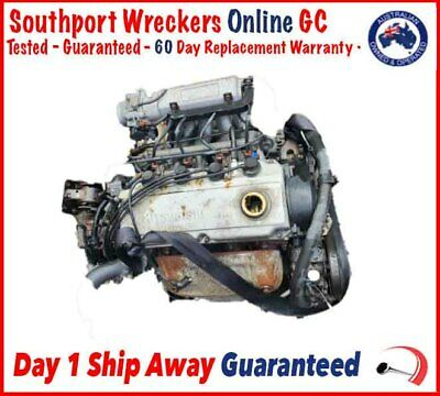 AU625 • Buy Mitsubishi Lancer Wagon Engine Motor Petrol 1.8L 4G93 (Reversed Engine) 96 97 98