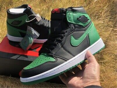 $200 • Buy AIR JORDAN 1 RETRO HIGH OG  PINE GREEN BLACK  2020 RELEASE 555088-030 Size 10.5