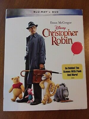 $15 • Buy Christopher Robin Blu-ray + DVD With Slipcover BRAND NEW