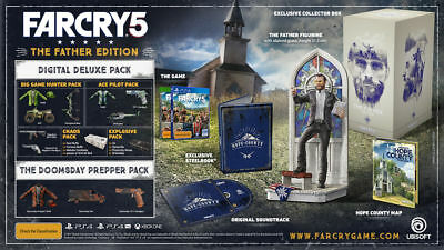 AU199 • Buy Far Cry® 5 The Father Edition Xbox One Brand New Sealed