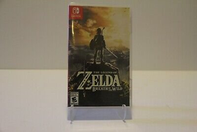 $44.95 • Buy Legend Of Zelda Breath Of The Wild Nintendo Switch Tested Works Authentic