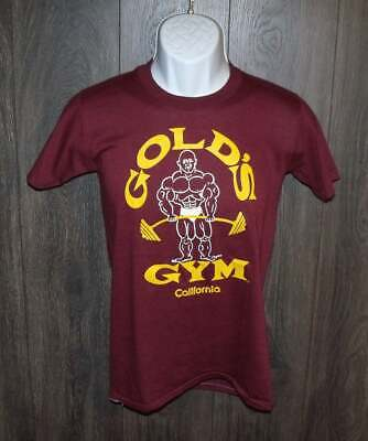 $ CDN38.27 • Buy Vintage Gold's Gym T Shirt SMALL Stedman 50/50 Made In USA Excellent Shape