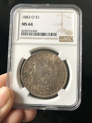 $49 • Buy 1883 O $1 Morgan Silver Dollar NGC MS64