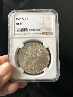 $49 • Buy 1884 O $1 Morgan Silver Dollar NGC MS64