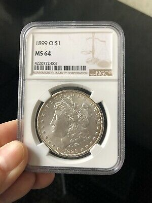 $50 • Buy 1899 O $1 Morgan Silver Dollar NGC MS 64