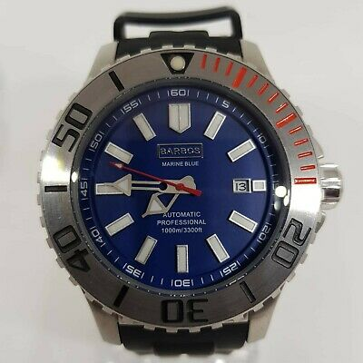 £341.78 • Buy BARBOS MARINE BLUE AUTOMATIC PROFESSIONAL  1000m Ed. Limited 1000pcs New Watch.