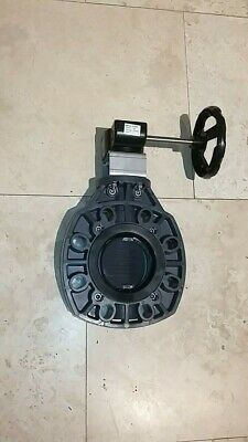 AU321.81 • Buy 4 Inch Butterfly Valve150# Pvc Gear Operated Cepex 34468pvc02583
