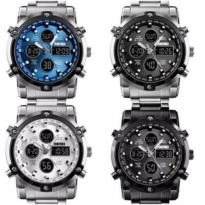 Infantry Mens Quartz Wrist Watch Led Digital Military Sports Stainless Steel • 14.99£