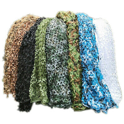 $208.98 • Buy Large Size Military Camouflage Net Hide Sunshade Hunting Camo Netting Cover Tent