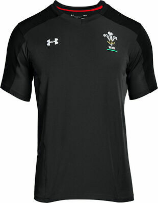 Under Armour Wales Rugby Official WRU Training Shirt S-XXL R.R.P £44.99 • 29.99£
