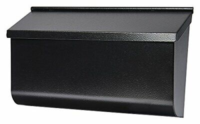$45.52 • Buy Wall Mount Black Mail Box Heavy Duty Galvanized Steel Extra Large Mailbox Home