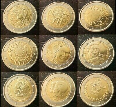 $ CDN59.32 • Buy 2 Euro Collection Coin Austria Germany Belgium Holland Finland Rare Europe Coins