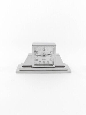 £1901.98 • Buy Extra Fine  Omega Table Clock With 8 Day  1930's Pure Art Deco