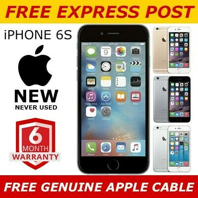 AU319 • Buy NEW Apple Iphone 6s 16/32/64/128GB AU STOCK - UNLOCKED - 6 MONTHS WARRANTY