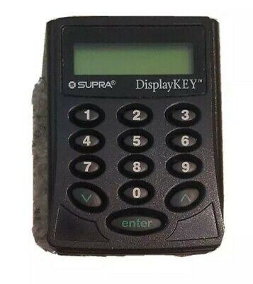 $10.10 • Buy KEYPAD ONLY - Supra Key Display Key For Real Estate Electronic Lock Box