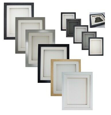 £16.99 • Buy 3D RECTANGLE Picture Photo Craft Art Music CD Gift Scrabble Object Display Frame