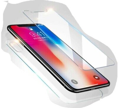 AU5.99 • Buy Front+Back Clear Tempered Glass Screen Protector For IPhone X / Xs / XR / Xs Max