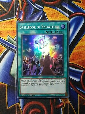 AU18.06 • Buy INCH-EN059 Spellbook Of Knowledge Super Rare 1st Edition Mint YuGiOh Card