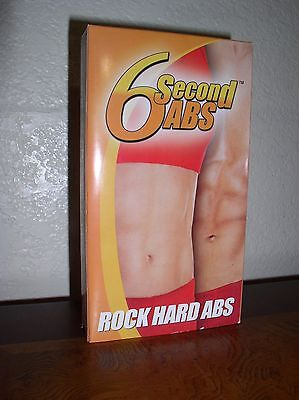 AU10.11 • Buy 6 Second Abs: Rock Hard Abs (VHS)