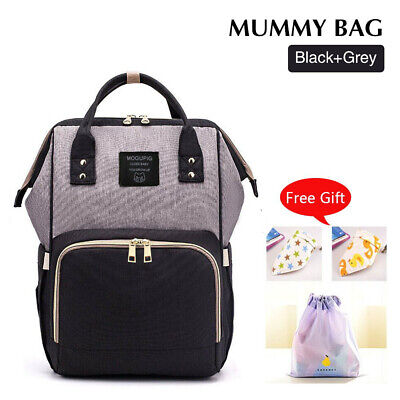 AU25.99 • Buy Luxury Multifunctional Baby Diaper Nappy Backpack Maternity Mummy Changing Bag