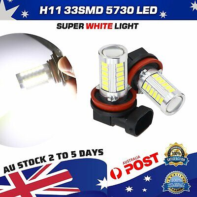 AU19.99 • Buy H11 H8 LED Fog Light Globe Conversion White For Ford Territory Everest Mondeo
