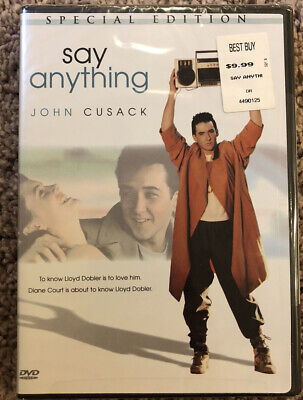 AU6.72 • Buy Say Anything (DVD, 2002, Special Edition) John Cusack - Brand New!!!