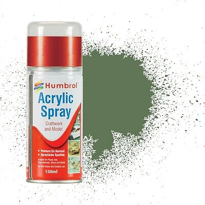 Humbrol Modellers Spray Paint 150ml (Various Colours) • 9.25£