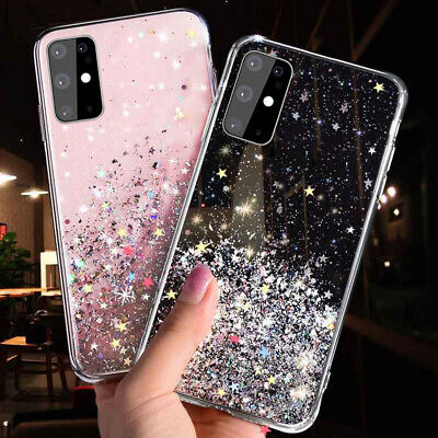 For Huawei P30 Pro P40 Mate 20 Lite P20 P Smart Glitter Bling Soft Case Cover • 2.74£