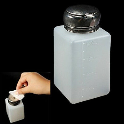 Empty Alcohol Nail Art Polish Simply Remover Cleaner Pump Dispenser One • 2.78£