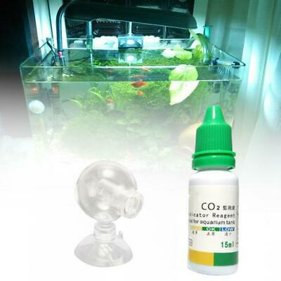 $5.02 • Buy Aquarium Carbon Dioxide CO2 Monitor Glass Drop Ball Checker Tester PH  Indicator