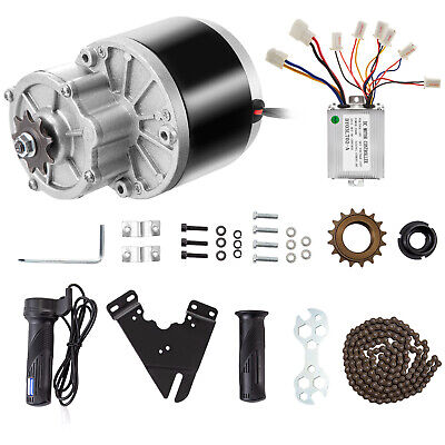 250W 24V DC Motor Gear Reduction Motor Kit Mounting Plate Scooter Electric Motor • 56.98£