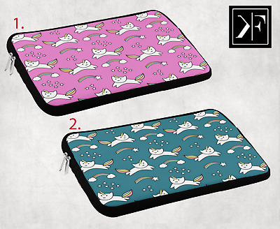 £13.99 • Buy Funny Cat Unicorn Laptop Sleeve Pouch Bag Case Cover Macbook HP DELL 9 10 12 14