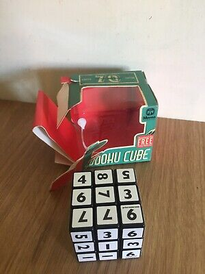 Mensa Sudoku Cube Puzzle Game Mind Fun Keep Your Brain Active 70th Anniversary • 8£